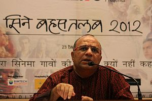 Chandraprakash Dwivedi - Image: Cine Bahastalab 2012 Dr. Chandra Prakash Dwivedi (Film & TV Director+Actor)
