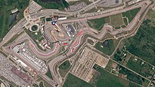 on circuit of the americas map