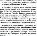 Circulaire du ministre de la justice du 18 nivôse an XI (8janvier 1803) interdisant aux officiers d'état civil la célébration des mariages entre Blancs et Noirs.jpg