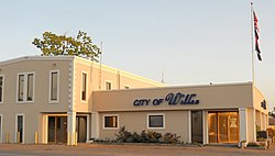 The City Hall of Willis, Texas