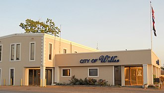 Willis, Texas - City Hall of Willis, Texas