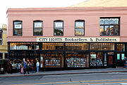 City Lights bookstore vid China Town