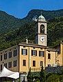 City hall and church tower, Lezzeno.jpg