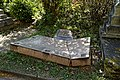 City of London Cemetery collapsed grave slab ledger stone 1.jpg