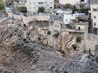 Silwan - Housing in Silwan built over ancient Judean tombs