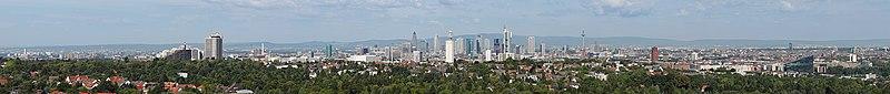 Cityscape Frankfurt 2010 panorama.jpg