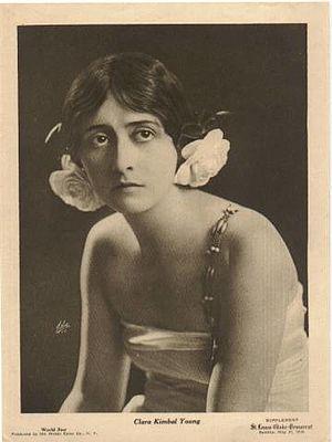 Clara Kimball Young - Clara Kimball Young in 1916