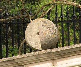 Clare Bridge - ball with missing wedge