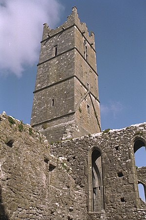 Claregalway Friary Tower 1996 08 27
