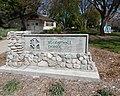 Claremont blaisdell park 2 marker and building.jpg