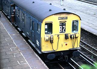 British Rail Class 501 class of 57 British 3-car electric multiple units