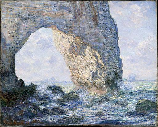 Claude Monet - La Manneporte (Étretat)