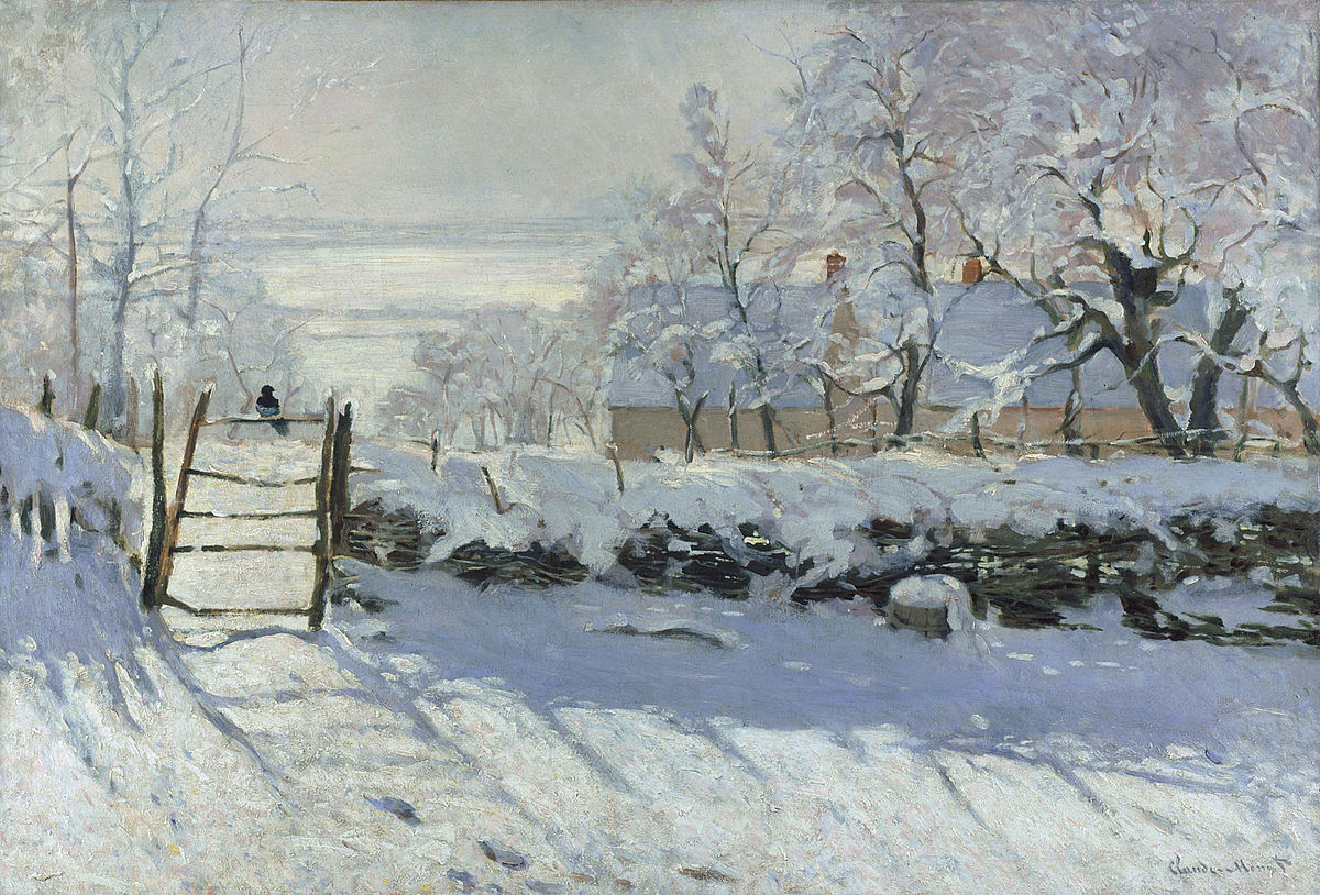 The Magpie (Monet) - Wikipedia