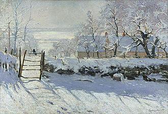 The Magpie (Monet) - Image: Claude Monet The Magpie Google Art Project