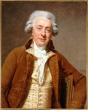 Claude Nicolas Ledoux - Portrait of Claude Nicolas Ledoux by Martin Drolling, 1790