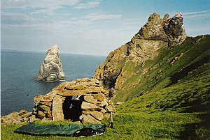 Cleit - Image: Cleitein Mc Phaidein, Boreray geograph.org.uk 1475975