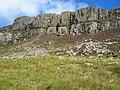 Cliffs on Na Huranan - geograph.org.uk - 544973.jpg