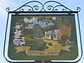 Close-up of Tunstall Village Sign - geograph.org.uk - 1461653.jpg