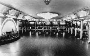 Cloudland - Interior of Cloudland Dance Hall, ca. 1950