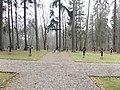 Cmentarz wojskowy przy al. Wojska Polskiego, po lewej stronie drogi nr 51, wyjazd w kierunku Bartoszyc - panoramio.jpg