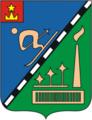 Coat of Arms of Novopodrezkovo (Moscow oblast).png
