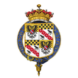 Coat of Arms of William Pleydell-Bouverie, 7th Earl of Radnor, KG, KCVO.png
