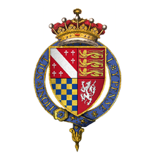 Coat of arms of Sir Charles Howard, 1st Earl of Nottingham, KG.png