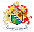 Coat of arms of Tameside Metropolitan Borough Council.png