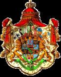 Großes Mantelwappen des Königreichs Sachsen