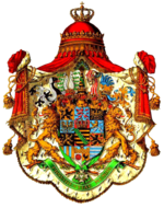 alt=Description de l'image Coat_of_arms_of_Wettin_House_Albert_Line.png.