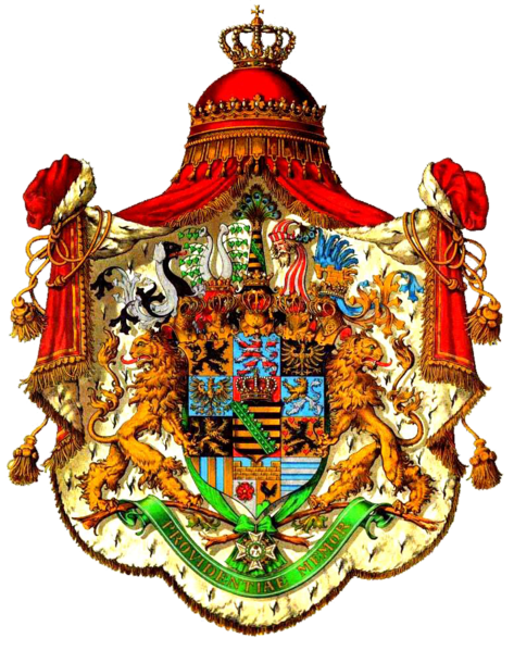 Archivo:Coat of arms of Wettin House Albert Line.png