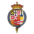 Coat of arms of William Wentworth, 2nd Earl of Strafford, KG.png