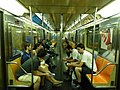 Coche R62A, línea 1 del Subte de Nueva York (8336552888).jpg