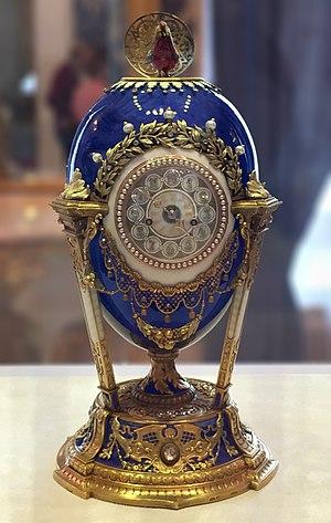 Cockerel (Fabergé egg) - Image: Cockerel Fabergé egg