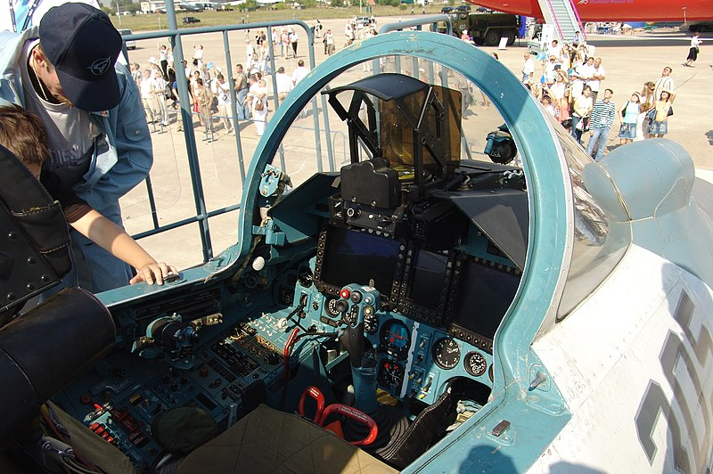 Su-35S 1/48 [GWH S4810] 800px-Cockpit_of_Sukhoi_Su-27SKM