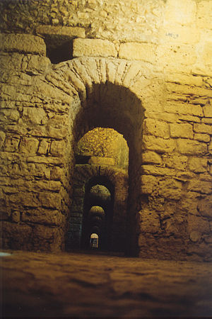 Aeminium - Cryptoporticus of the ancient forum of Aeminium, under the Machado de Castro Museum.