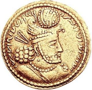 Sasanian king