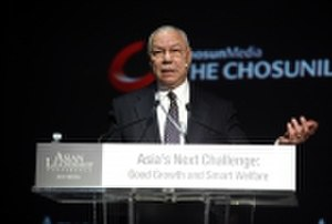 Asian Leadership Conference - Secretary of Defense Colin Powell speaking at ALC 2013