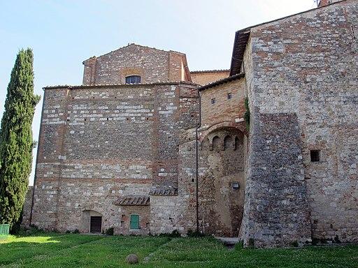 Colle di Val D'Elsa - Colle, Palazzo Pretorio, retro del Duomo