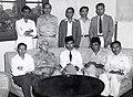 Collectie NMvWereldculturen, TM-60042256, Foto- De delegatie van Pasundan tijdens een Federale conferentie voor een Federaal Indonesie, Batavia, 14 juni 1948, 1948.jpg