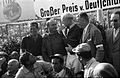 Collins Fangio and Hawthorn podium Nurburgring 1957.jpg