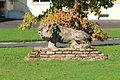 Colombelles école Henri Sellier lion.JPG