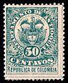 Colombia Antioquia 1890 Sc80.jpg