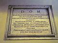 Colonna - s Giuseppe a Capolecase 1652 lapide card Marcello Lante 1260918.jpg