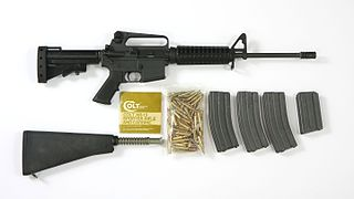 Colt AR-15 Semi-automatic rifle
