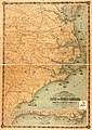 Colton's new topographical map of the eastern portion of the state of North Carolina with part of Virginia & South Carolina from the latest & best authorities. LOC 2008621646.jpg