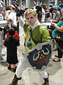 Comikaze Expo 2011 - Link from Legend of Zelda (6324616165).jpg