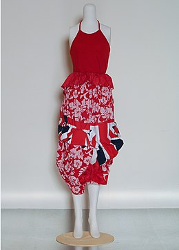 Comme des Garçons dress in red, white and blue.jpg