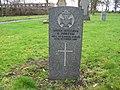 Commonwealth War Grave in Jarrow Cemetery (WW1-36) - geograph.org.uk - 1604142.jpg
