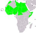 Community of Sahel-Saharan States (CEN-SAD) member states.png